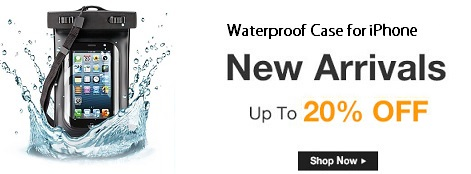 Waterproof Pouch for iPhone 5s