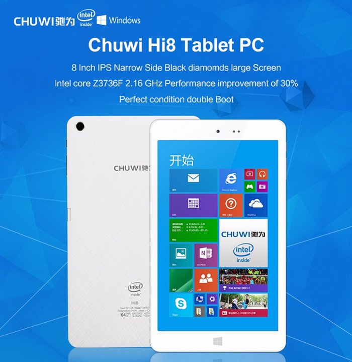 CHUWI Hi8 Dual OS Tablet PC