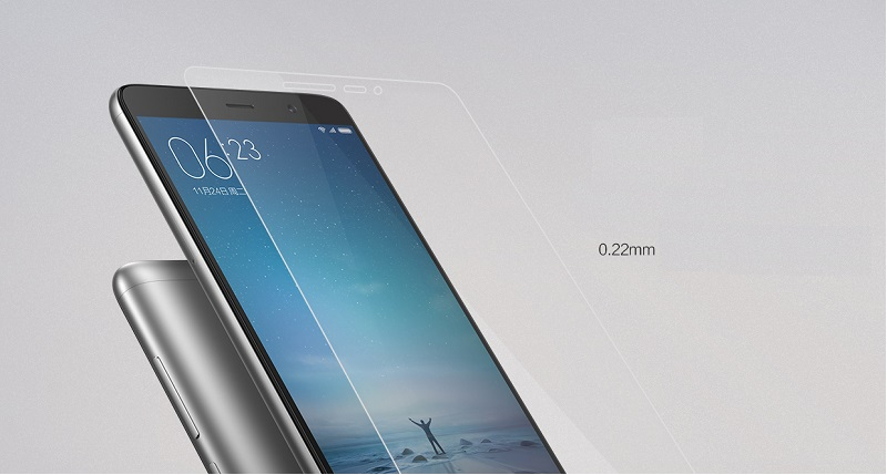 Tempered Glass Screen Protector For Xiaomi Redmi Note 3