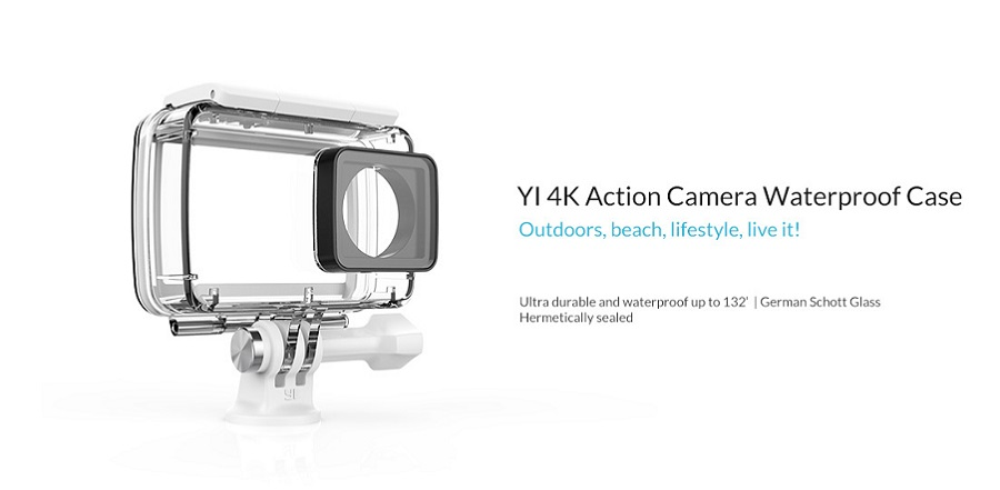 Waterproof Case for Xiaomi Yi 4k Action Camera 2
