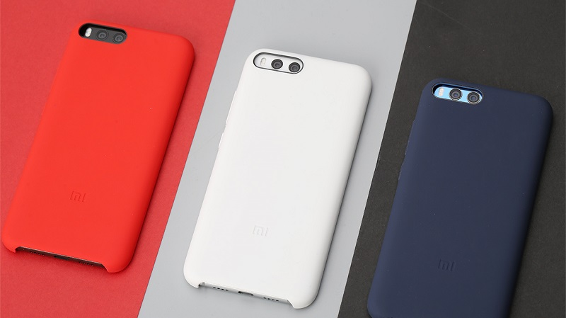 100% Xiaomi Official Original Silicone Back Cover Case Protective For Xiaomi Mi6