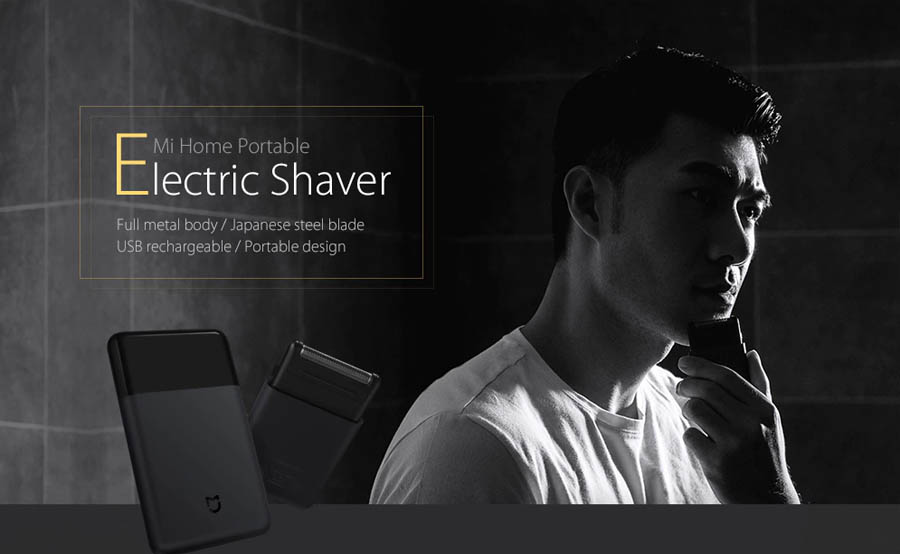 Xiaomi Mijia Electric Shaver Portable
