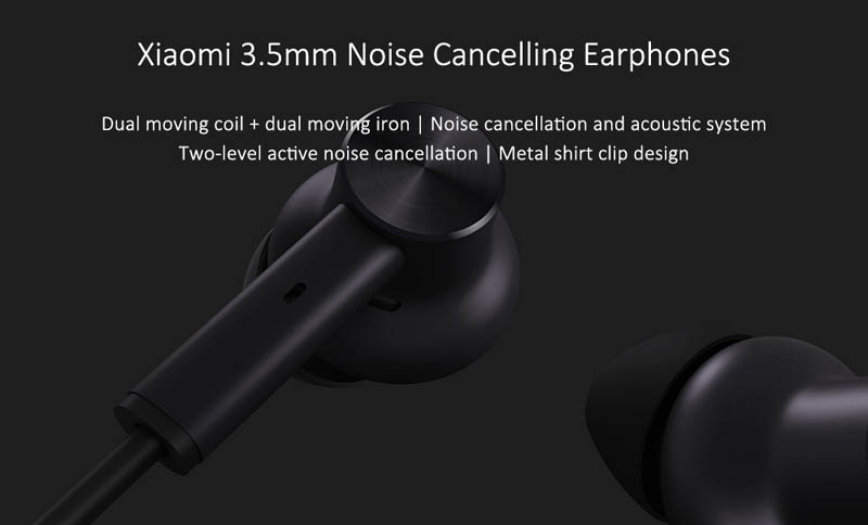 Xiaomi Noise Cancelling Earphones 3.5mm