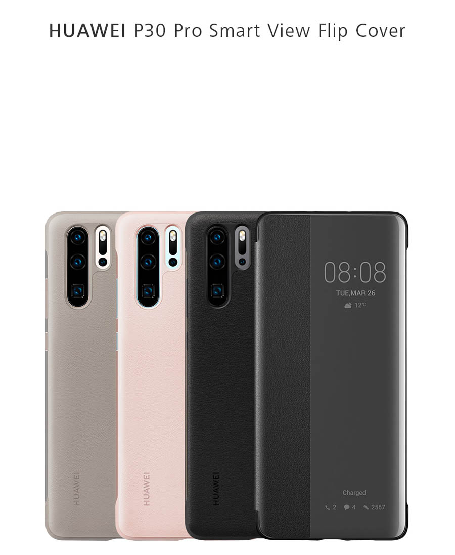 Official Huawei P30 Smart View Flip Case