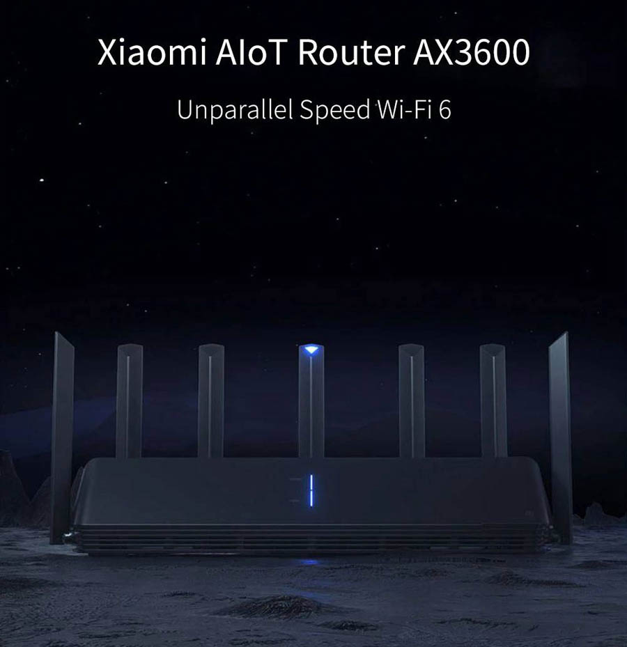 Xiaomi AX3600 AIoT Wireless Router